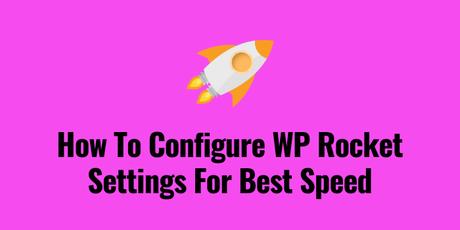 wp rocket settings