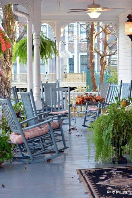 grandma's porch grandparenting style