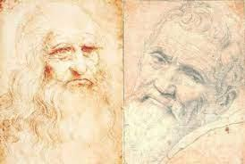 The author identifies these as simply two competing pictorial systems, each. Michelangelo Buonarroti Vs Leonardo Da Vinci Kitsune S Thoughts