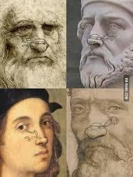 Leonardo raffaello michelangel o 2. Leonardo Donatello Raphael And Michelangelo 9gag