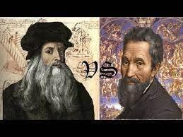 One way to recognize a painting done by leonardo is the hair. Leonardo Da Vinci Michelangelo Vs Leonardo Da Vinci Fan Art 35480883 Fanpop Page 2