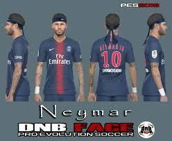 Neymar jr psg vs fc barcelona pes 2017 gameplay. Ultigamerz Pes 2019 Neymar Psg Face With Headband New Hair