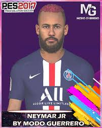 Download pes 2017 neymar jr face (psg). Pes2017 Face Neymar Jr By Modo Guerrrero Pes Patch