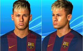 Pes 2017 pes professionals patch (all) option file. Neymar Face With Blonde Hair Pes 2017 Patch Pes New Cute766