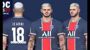 134 followers · amateur sports team. Pes 17 M Icardi And Neymar Updated 2021 Look By Dc Pes Patch