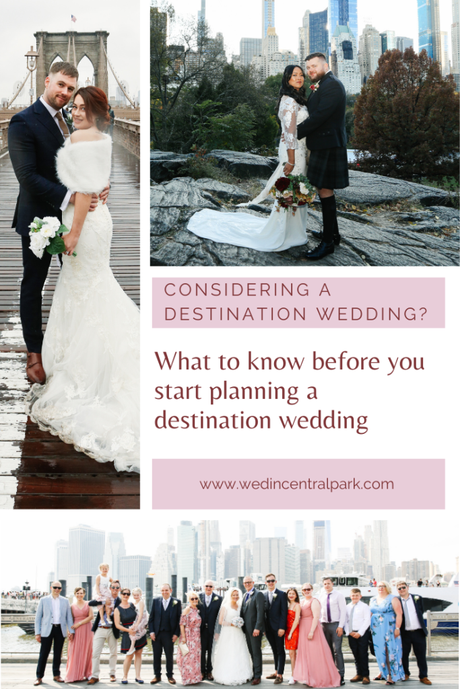 What You Need to Know Before Planning a Destination Wedding