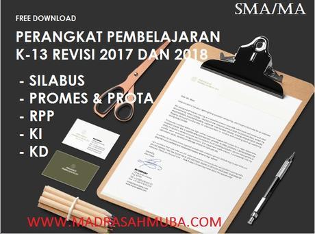 Download Gratis Rpp Dan Perangkat Pembelajaran Akidah Akhlak Kelas Xi Ma K13 Revisi 2018 Madrasah Muba