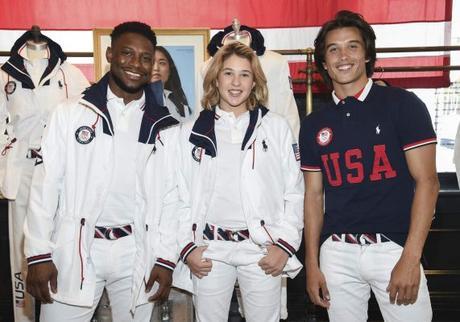 Ralph Lauren Unveils New Team USA Olympic Uniforms