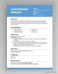 A resume is a basically a summary of skills and experience over one or two. Cv Resume Templates Examples Doc Word Download