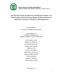 Sample thesis philippines 2019 is available for you to explore on this site. Thesis In Filipino Research Papers Academia Edu
