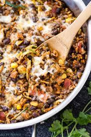But it often seems like it's hard to know what to do with them. One Pot Cheesy Mexican Lentils Black Beans And Rice Recipe Runner