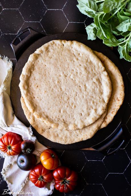 Gluten-Free Sourdough Pizza Crust