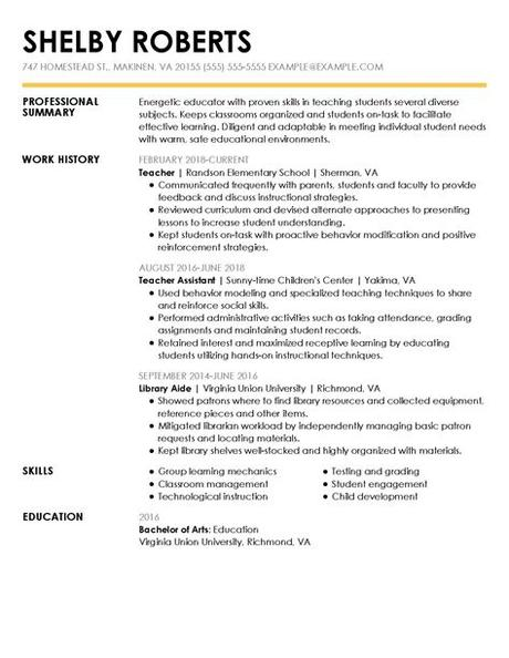 Cv examples see perfect cv samples that get jobs. View 30+ Samples of Resumes by Industry & Experience Level