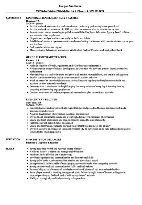 Cv examples see perfect cv samples that get jobs. Student Teacher Resume | louiesportsmouth.com