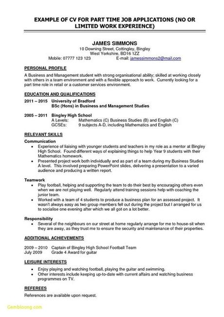 Creating a resume or cv for a teacher with no experience can be a little challenging for most graduates. 75 Inspiring Photos Of Resume Examples for Students with ...