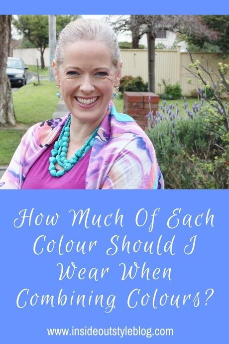 How Much Of Each Colour Should I Wear When Combining Colours?