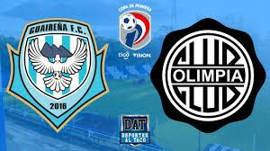 Guairena won 1 direct matches.olimpia won 1 matches.2 matches ended in a draw.on average in direct matches both teams scored a 1.50 goals per match. Guairena Vs Olimpia Futbol Paraguayo En Vivo Youtube