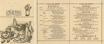 If you visit madison monroe street is a must! Ovens Of Brittany Lunch And Dinner Menu Print Wisconsin Historical Society