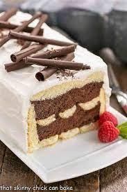 Between sides of dessert and pan, and remove sides. Chocolate Mousse Cake That Skinny Chick Can Bake