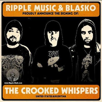 L.A. psychedelic doom purveyors THE CROOKED WHISPERS sign to Ripple Music as part of special series curated by Blasko.