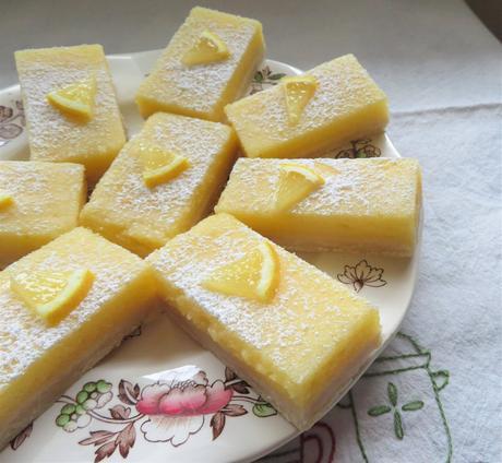 Lush Lemon Bars