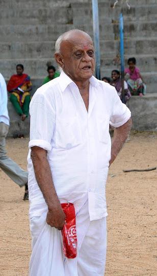 Triplicane mourns the death of Mr P Nagarajan