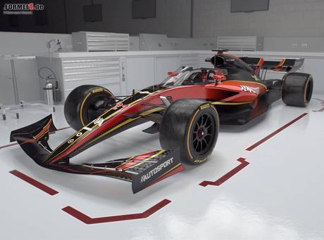 Formel-1-Design 2021 wird nachgewürzt: Flugzeugartige ...