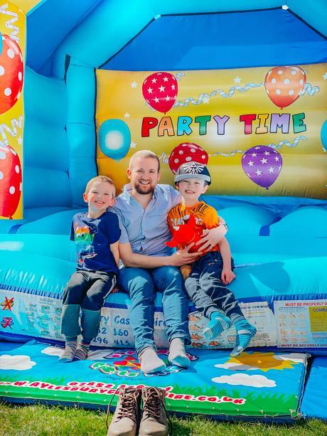 hiring a bouncy castle, bouncy castle birthday party, 8th birthday party, lockdown birthday party, 8 year old birthday gift ideas,