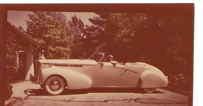 Stylish version of a 1934 Packard Convertible, redesigned and renamed