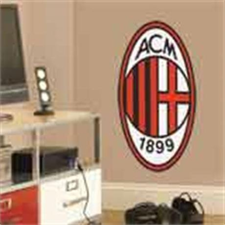 Associazione calcio milan, commonly referred to as a.c. AC Milan wappen Farbe