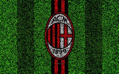 Use the filters to select a opponent. Download wallpapers AC Milan, 4k, logo, football lawn ...