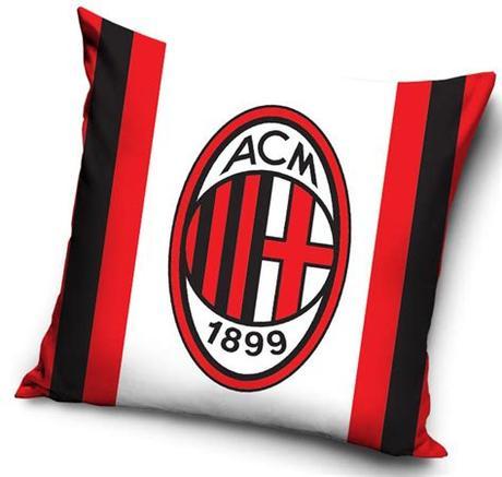 Attribution is required how to attribute? Kissen AC Milano Wappen | Sportartikel | Sportega
