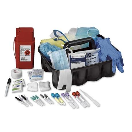 Insulated phlebotomy transport tote small red. Phlebotomy Kit | Blood Collection Supplies | Injection ...