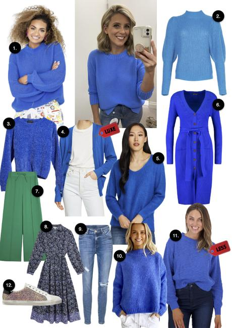 Blue Sweaters || Shopping guide