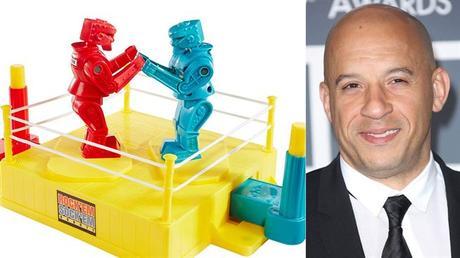 Vin Diesel in the adaptation of the board game Rock 'Em Sock' Em Robots