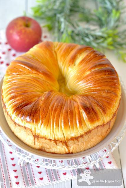 best super soft apple cinnamon wool roll bread