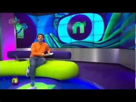 But one cbbc newsround story today grabbed our attention: News bloopers CBBC Newsround presenter coughing fit - YouTube