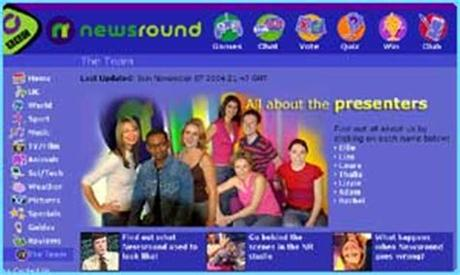 It aired between 2002 and 2005. CBBC Newsround   SCI TECH   New look for Newsround website