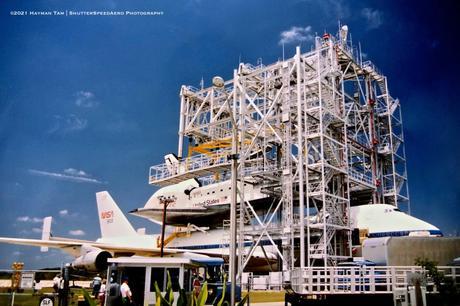 Rockwell International OV-103 Discovery / NASA Shuttle Carrier Aircraft (B747-100)