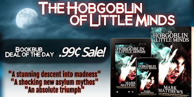 THE HOBGOBLIN OF LITTLE MINDS is now just 0.99₵ on Amazon