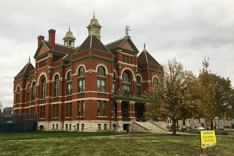 Franklin Country Courthouse in Ottawa, KS, host to the Kansas Rails to Trails Fall Ultra