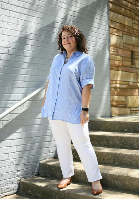 Wrinkle-Free Linen from Chico's