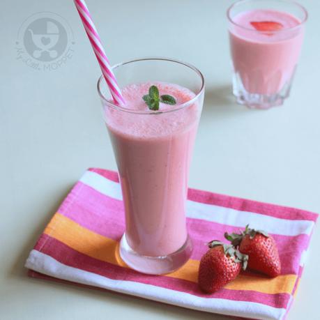 Strawberry Lassi