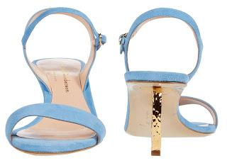 Shoe of the Day | Rupert Sanderson Silhouette Suede Sandals