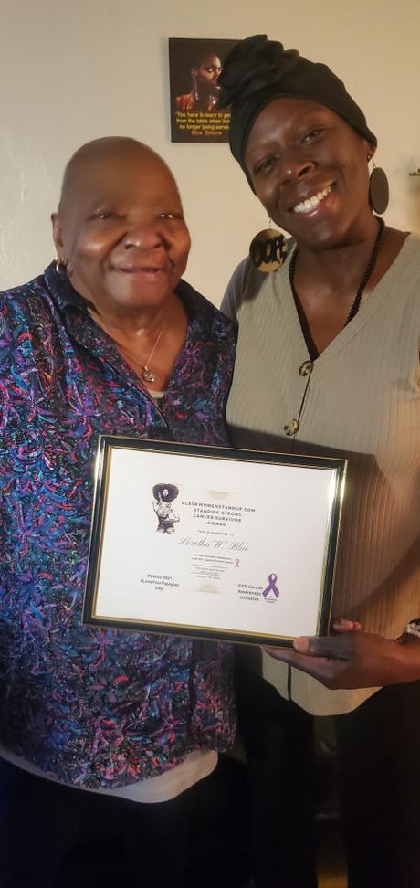 BlackWomenStandUp.com #BWSU Co-Founder Honors Cancer Survivor – On Their Annual #LoveYourVaJayJay Day – GYN Cancer Awareness Initiative