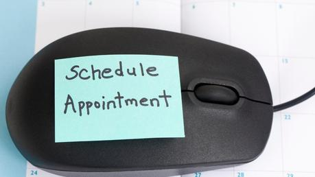 schedule an online appiontment to manage your dental practice