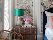 Scheming: Feminine Floral Bedroom Thiara Borges