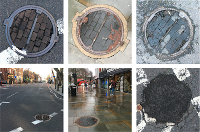 Would you believe it? Wood block surfaces still visible on London streets