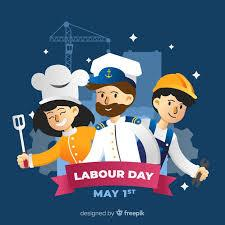 Labor day, celebrated on the first monday of every september, honors millions of hardworking americans across the country. Free Vector Happy Labour Day Background
