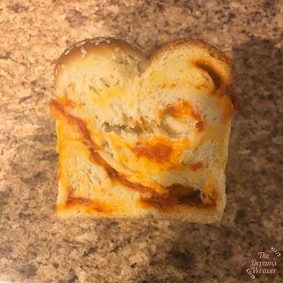 Red Pepper Spread Filled Challah ~ The Dreams Weaver